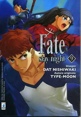 manga STAR COMICS FATE STAY NIGHT numero 9