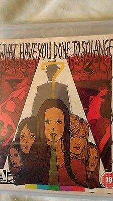 What Have You Done To Solange ? Dual Blu-Ray & Dvd New & Sealed Region A/b 1/2