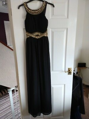 Quiz dress size 8. Used. Black. Good condition. Prom. Wedding