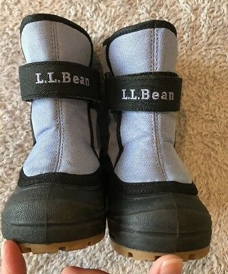Ll Bean Snow Boots 5 Toddler Winter Warm Lined GUC