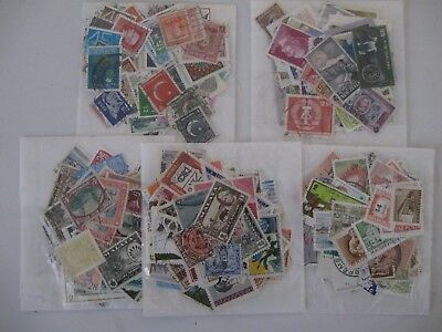 Special Offer, 5 Packs Of 100 Different World Stamps, Off Paper ,  Post Paid