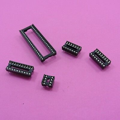 Standard IC Socket 8Pin, 14Pin, 16Pin, 20Pin, 40Pin Low Profile