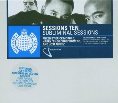 Ministry Of Sound - Sessions 10: The Subliminal Sessions (2 X CD)