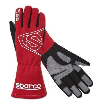 CLEARANCE! Sparco Land L-3 FIA Race Gloves RED X-Large Race / Rally