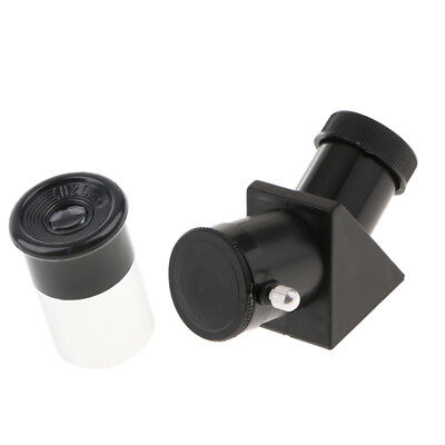 "Telescope Lens Eyepiece H20mm+45 Degree Erecting Prism Mirror 0.965"" 24.5mm"