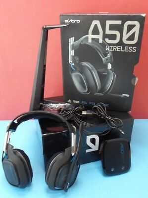 ASTRO Gaming A50  Black Gen 2 for PS PC Wireless Gaming Headset cosm issue #unpl