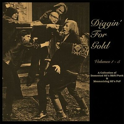 VARIOUS - Diggin' For Gold, Vol 1 - 5. New 5CD + sealed ** NEW **