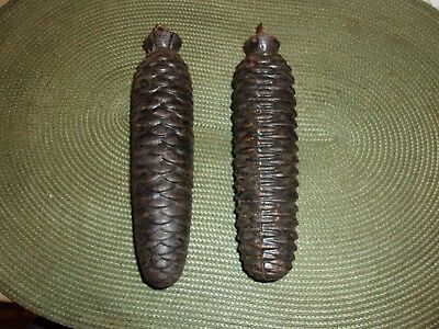 Pair of Vintage CUCKOO CLOCK WEIGHTS 1485 & 1520 Grams
