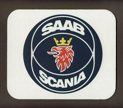"SAAB SCANIA Mouse Pad  ""FREE SHIPPING"""