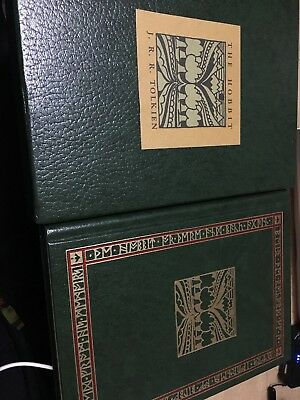 The Hobbit Or There And Back Again JRR Tolkien with  Slipcover 1966