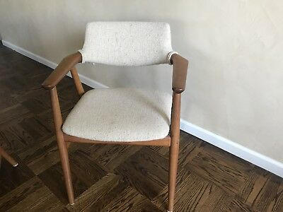 Vintage Danish Teak Dining Chairs, Set Of 4