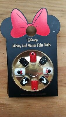 Disney Minnie & Mickey Mouse False Nails Primark BRAND NEw