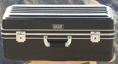"Platt Hard Case 4 camera video equipment electronic Wheels/Handle! 21.5""x15""x8"""