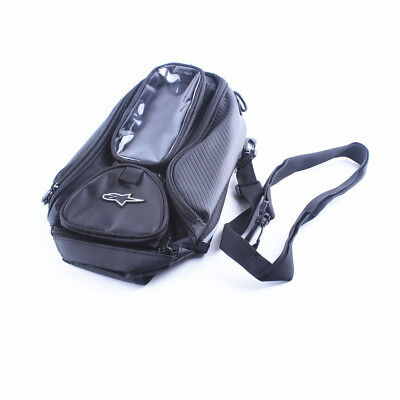 Universal Waterproof Motorcycle Fuel Oil Gas Tank Bag Backpack Fit Honda Yamaha