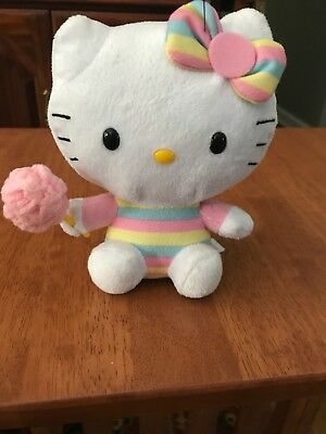 d37a7e23204 TY BEANIE BABY Hello Kitty Cotton Candy -  5.50
