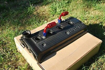 TOYOTA STARLET GT Turbo Glanza Ep82 Ep91 4EFTE Race Spec Rocker Cover 8AN