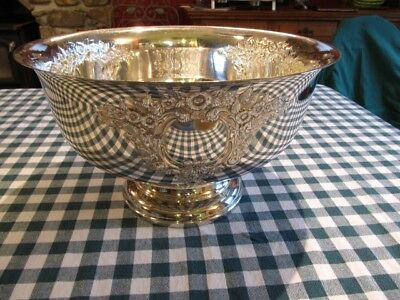 Silverplated Punch Bowl