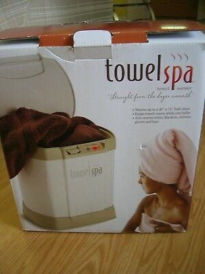 New Innovation Direct Personal Towel Spa Towel Warmer #50001 Blanket Robe Gloves