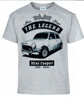 T-Shirt, Mini Cooper,Oldtimer,Youngtimer