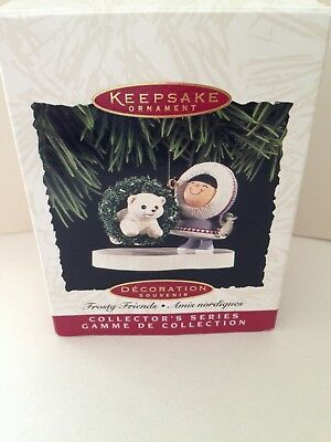 Frosty Friends 1994 Ornament in Box, EX condition