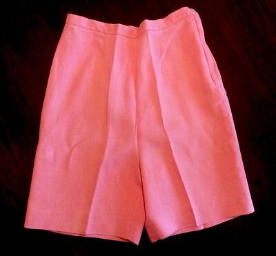 Vintage 1960s Loomtogs- Pink High Waisted Shorts - Imported from Ireland