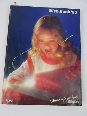 1985 Sears Wish Book Vintage Christmas Catalog Holiday Gifts Toys Clothes So Fun