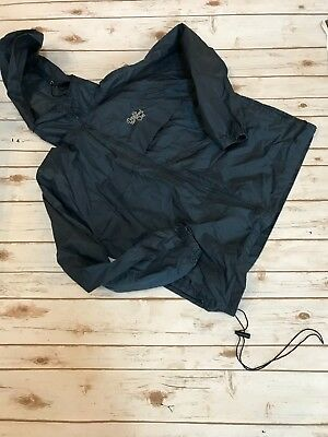 Pampered chef Navy Windbreaker  XL