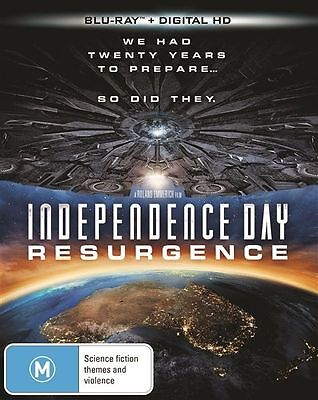 Independence Day - Resurgence (Blu-ray, 2016)