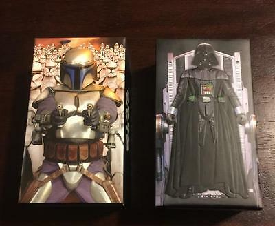 Star Wars: Attack of the Clones and Revenge of the Sith 3D Widevision Card Sets