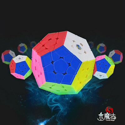 YuXin Little Mini 3x3x3 Megaminx Dodecahedron Magic cube Stickerless Twist Toys