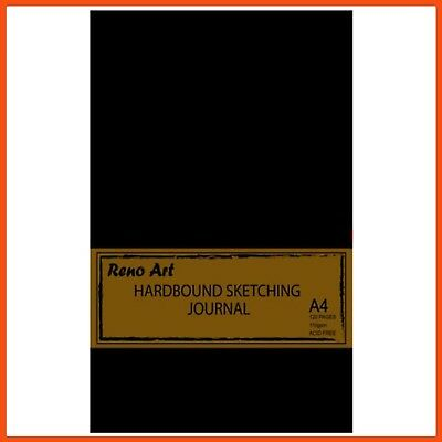 10 x RENO ART 110 GSM A4 SKETCHING JOURNAL 128 PAGES | Hardcover Bound Portrait