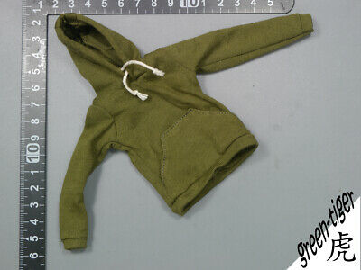 1:6 Scale ace Female figure parts - Olive green hoody hoodie Street style