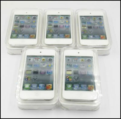 NEW Apple iPod touch 4th Generation White (16 GB) MP3 Player Warranty - Retail