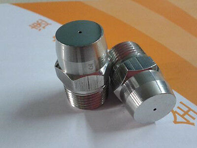 "NEW Conical Stainless steel spray nozzle 1/4"" bspt high pressure clean #Z764 ZY"