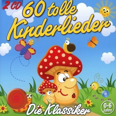 60 Tolle Kinderlieder, 2 Audio-CDs 2 Audio-CD(s) Kiddy Club