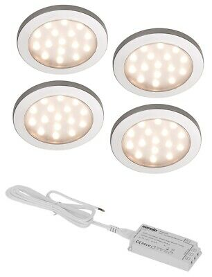 Sensio PINTO LED Under Cabinet Round Surface Ultra Bright Lights SE11006