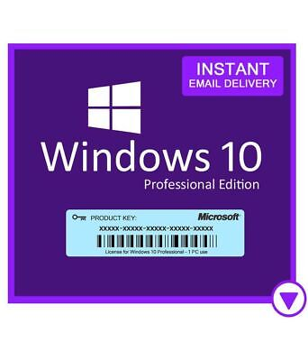 Genuine Windows 10 Professional key for 20 PCs - fast delivery and download