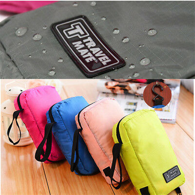 Travel Camping Toiletry Hanging Wash Portable Makeup Cosmetic Storage Womens Bag