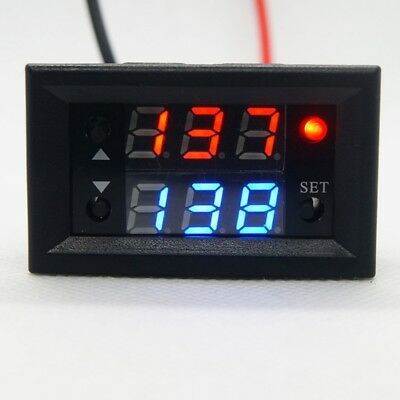 12V Timer Delay Relay Module Digital LED Display Cycle 0-999 Adjustable Relay