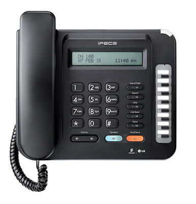 LG iPECS LDP-9008D Business Telephone With Desk Stand