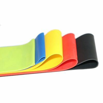 Set Of 4 Heavy Duty Resistance Band Loop Power Fitness Exercise YOGA WORKOUT UI