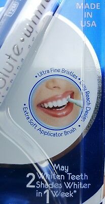 Gel Pen Teeth Whitening ABSOLUTE WHITE Tooth WHITENER DELICATE Stain REMOVER DC