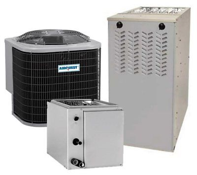 4 Ton 13SEER 92%AFUE 100K BTU AirQuest by Carrier AC/Heat System
