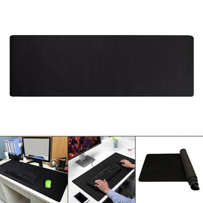 Gaming Mouse Mat Pad Pro Extended Extra Large Black Anti Slip Big Size Desk