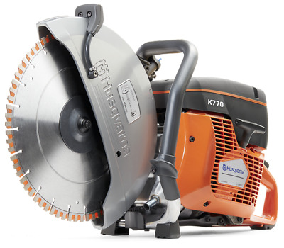 "Husqvarna K770 14"" Gas Concrete Demo Saw - NEW - Ships Today - Authorized Dealer"