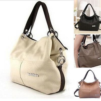 ❤Women's Soft PU Leather Tote Shoulder Bags Handbags Satchel Messenger Bag Purse