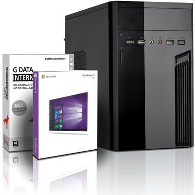 PC Quad Core AMD A10 • 8GB RAM • 240GB SSD • Win10 • Rechner Komplett GAMER