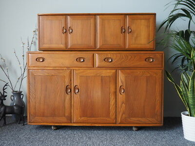 Mid Century Vintage Ercol Golden-Dawn Range Elm Sideboard UK DELIVERY AVAILABLE