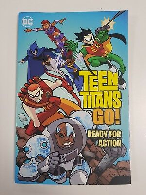 Teen Titans Go Ready For Action Graphic Novel 9781401268992 482