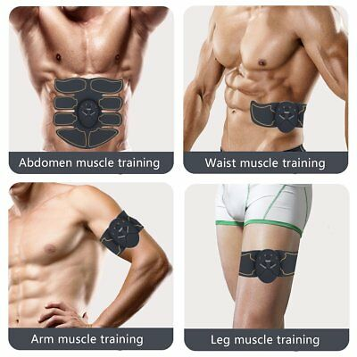 New Smart Training  Fitness Stimulator Gear Muscle Abdominal Toning Belt Trainer